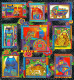 Patchworkstoffe Laurel Burch