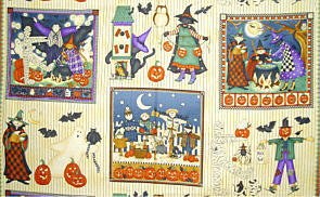 Panel Halloween Katzen