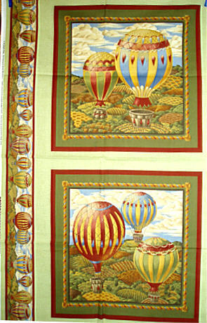 Doppel Panel Fesselballon