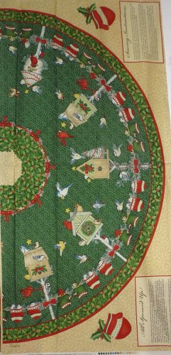 Panel Christbaumdecke